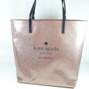 ♠️ Kate Spade Pink Glitter Tote AS IS